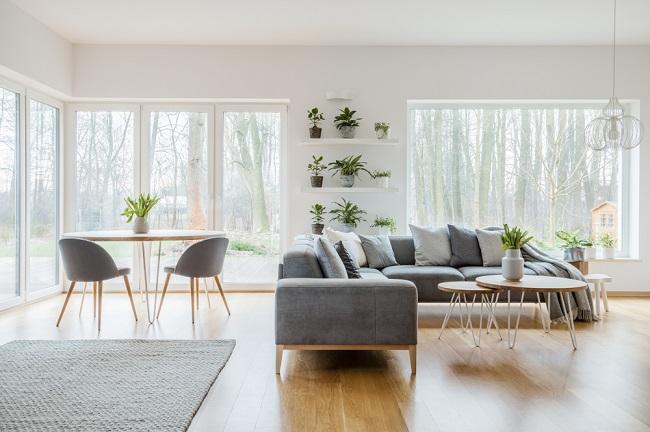 Grijs in je woonkamer interieur