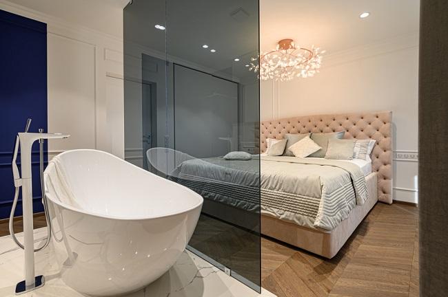 Slaapkamer En Badkamer Ineen 7x Inspiratie Interieurideetjes Nl