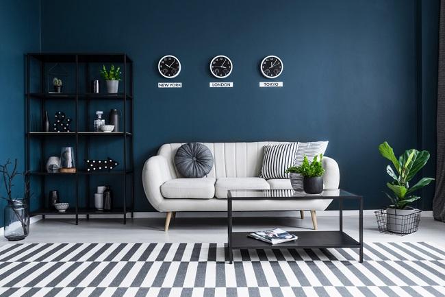 Donkerblauw in het interieur de nieuwe favoriet!