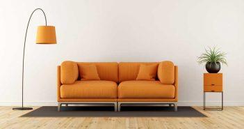 Oranje in het interieur: dat past goed bij de herfst!