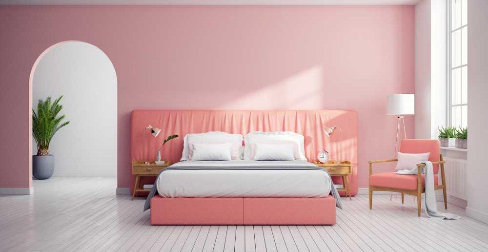 Pak uit met roze in de slaapkamer!