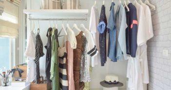 De open kledingkast in de slaapkamer: ontdek de voordelen