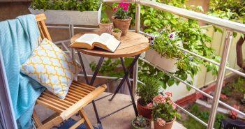 Een gezellig balkon: de accessoires spelen een belangrijke rol