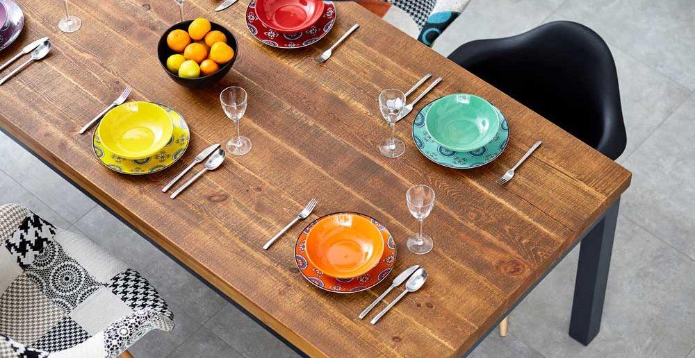 Kleurrijk serviesgoed: elke dag weer een feest op tafel
