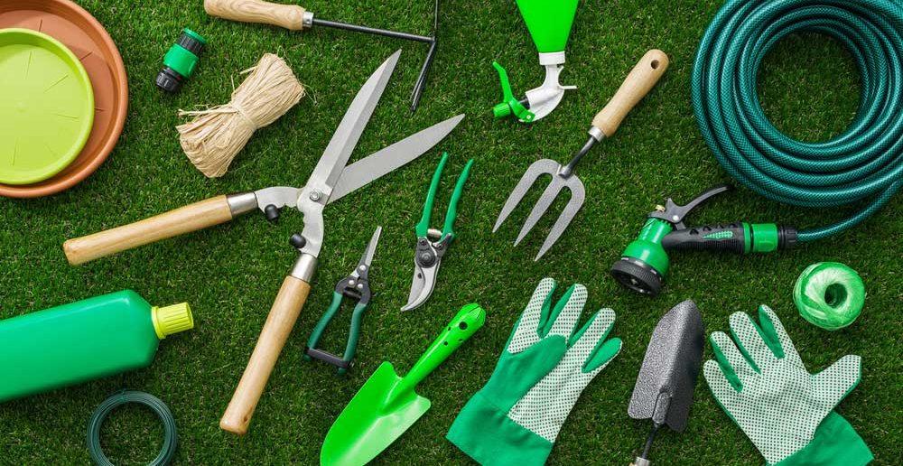 Gereedschap in de tuin: welke items mag je niet missen?