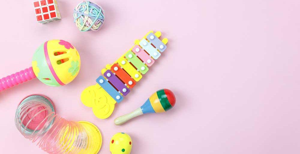 Een groot plezier voor de kids: speelgoed met geluid!