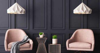 Lekker opvallend: roze meubelstukken in huis
