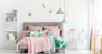 Mooi: pasteltinten in de slaapkamer