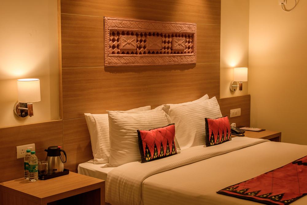 Oosterse hotelkamer