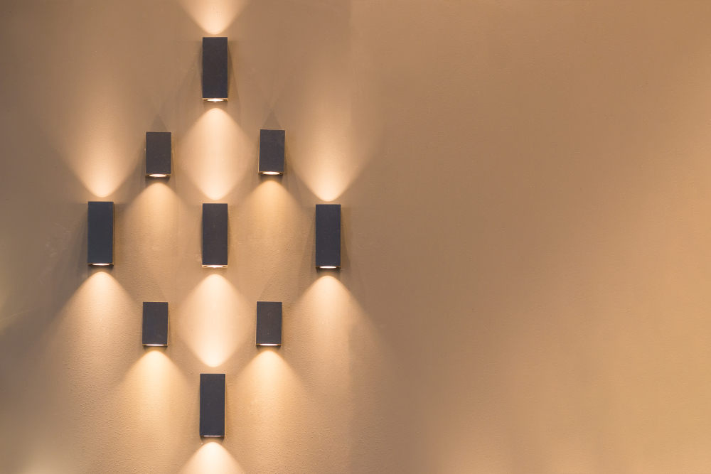Wandlampen om sfeer te creëren