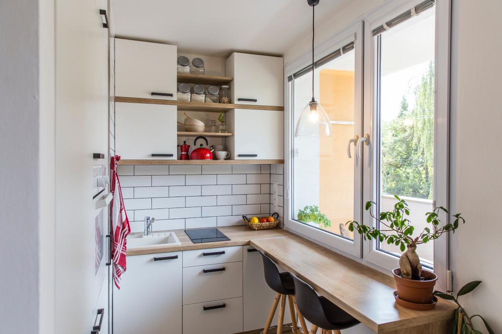 Tips om een kleine keuken groter te laten lijken