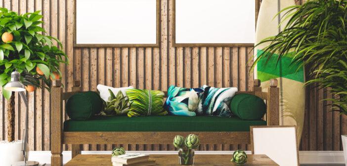 Surfplank als accessoire in huis: mooie voorbeelden