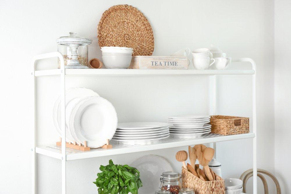 Extra keuken opbergruimte met een extra kast