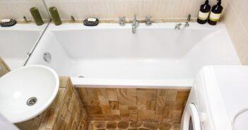 Kleine badkamer bad zeker mogelijk
