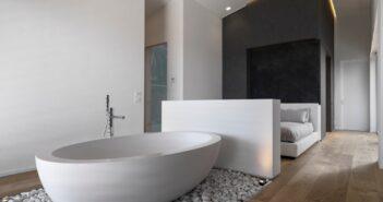 Slaapkamer en badkamer ineen 7x inspiratie