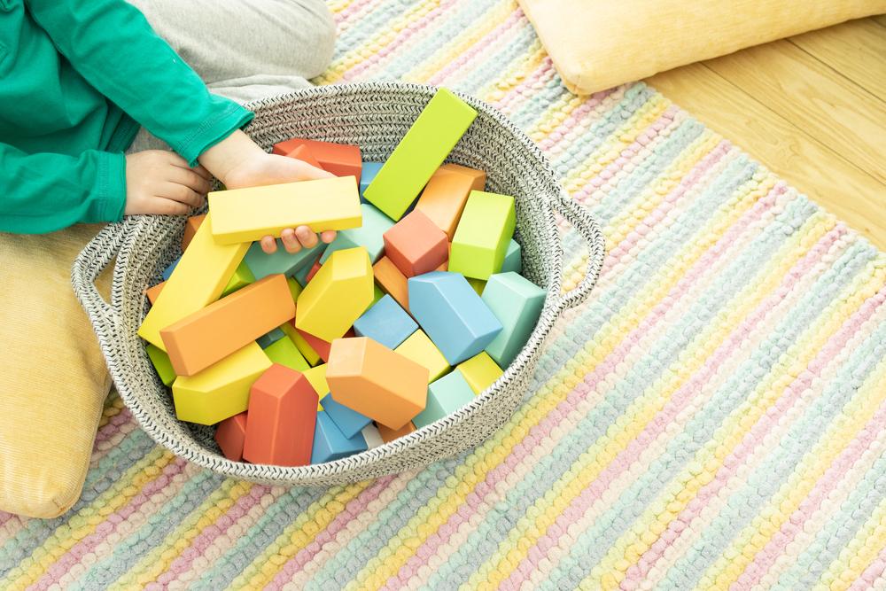 Opbergmanden voor speelgoed en opbergkisten voor speelgoed