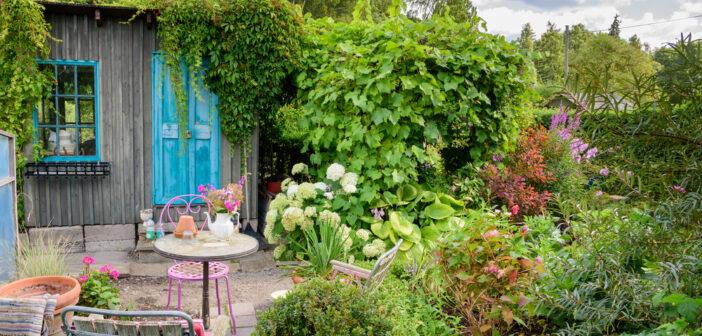 Een tuinhuisje in de tuin: 7x welke originele manieren van inrichten zijn er?