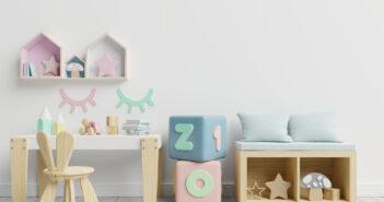 Hoe tover je de babykamer om in een peuterkamer?