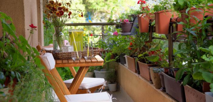 Wat heb je écht nodig voor de inrichting van je balkon? 6 tips en tricks!