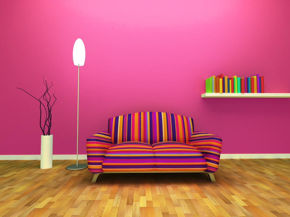 Woonkamer meubels: alle kleuren van de regenboog