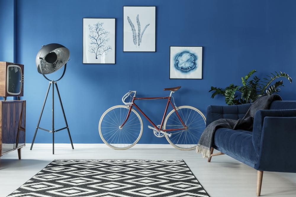 Inspiratie wanddecoratie: meerdere lijsten