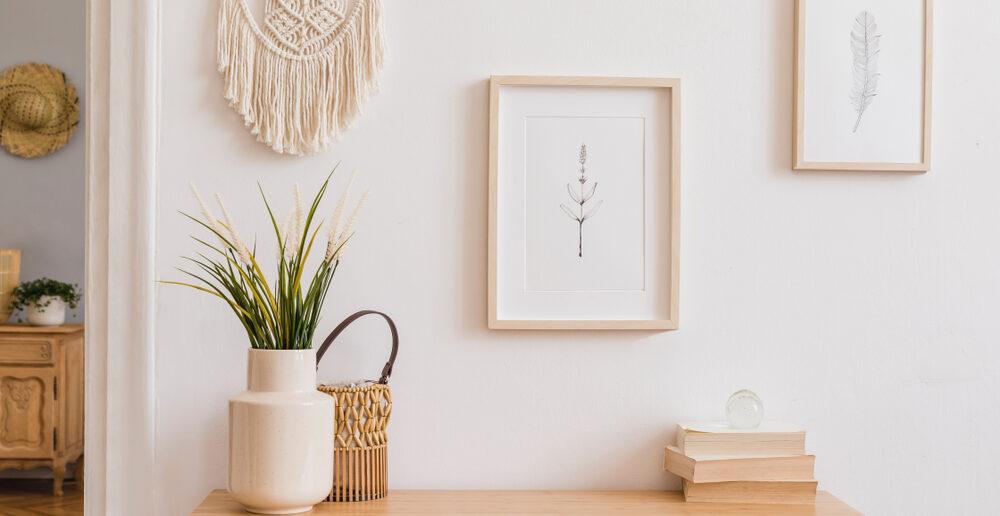 Verschillende soorten wanddecoratie: 6 toffe ideeën