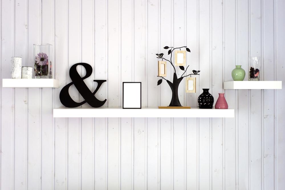 Wanddecoratie tips: planken aan de muur